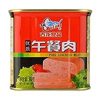 古龙 优质午餐肉 1360g(340g*4)(亚马逊自营商品, 由供应商配送)