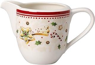 Villeroy & Boch 德国唯宝 冬季欢乐烘培(Winter Bakery Delight) 牛奶杯 优质搪瓷,280ml,白/红色
