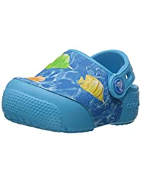 Crocs 卡骆驰儿童 Crocsfunlab Lights Fish 洞洞鞋