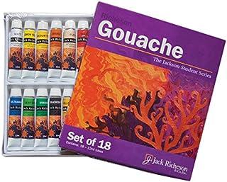 Jack Richeson Paints Gouache,12ml,18支装