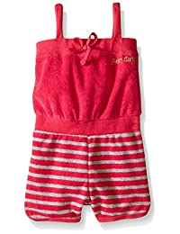 Juicy Couture Baby Girls' Romper with Loop Terry