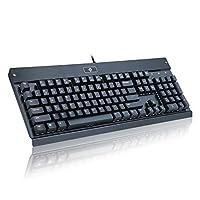 EagleTec kg010-n 机械键盘104键适用于游戏 / 办公 / 工业黑色 黑色