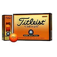 TITLEIST 高尔夫球 HVC SOFT FEEL 2片 12个装 橙色 T7251S-J