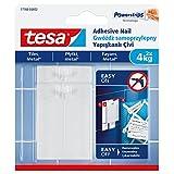 tesa 可去除瓷砖、金属和光滑表面粘合*,白色 白色 4 kg per Nail or 8 kg 77766-00002-00