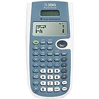 Texas Instruments TI30XSMVLIMEGRN 计算器 蓝色和白色