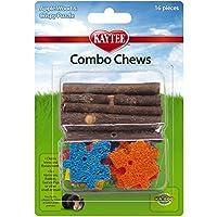 Kaytee Combo Chews,苹果木和碎屑拼图 棕色 16 Pieces