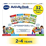 VTech Touch and Learn 活动桌豪华 4 合 1 学龄前儿童组合扩展包 I 适合 2-4 岁儿童