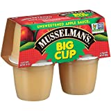 Musselmans Natural Unsweetened Applesauce 6 oz (Pack of 12)