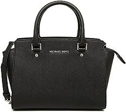 Michael Kors 迈克·科尔斯 女式 塞尔玛MD TZ小背包 30T3SLMS2L 001 黑色 均码