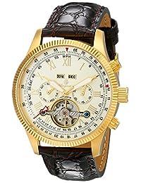 Burgmeister 伯格麦斯特 德国品牌 机械手表 男士腕表 开芯设计多功能 BM330-275(亚马逊自营商品, 由供应商配送)
