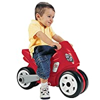 STEP2 晋阶 旋风摩托车 儿童滑行学步车 摩托踏行车 736200