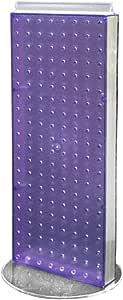 Azar 223022 非旋转底座霓虹栓板计数器单元,20.32 厘米重 50.8 厘米高,22.86 厘米 223022-PUR