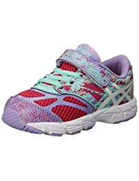 ASICS Noosa Tri 10 TS Running Shoes Cabernet/White/Violet 4 M US Toddler