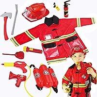 JOYIN 玩具儿童消防员消防员装扮游戏装扮玩具套装