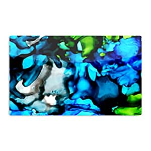 "KESS InHouse Claire Day""Chesapeake Bay""艺术铝制磁铁,5.08 厘米 x 7.62 厘米,多色"