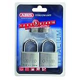 ABUS 64TI/40 40mm 钛柱锁(4 个装)
