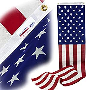 Valley Forge 旗帜 50 星涤纶棉 50.80 厘米 x 2.44 米拉下 0 08636050
