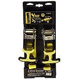 Vigor 9408-05 2 x 棘轮系扣带,断裂强度:400 千克,长度:5 米