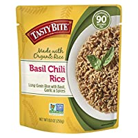 Tasty Bite Rice, Basil Chili, 8.8 Ounce, 6 Count