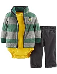 Carter ' s 婴儿男孩3件套绒开衫套装