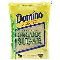 Domino 纯甘蔗有机糖 - 24 盎司(约 680.4 克)
