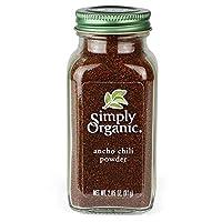Simply Organic Ancho辣椒粉,80.65克
