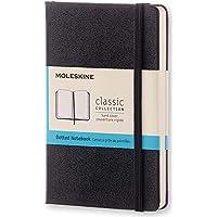 Moleskine 黑色硬面虚线笔记本 (口袋型)A6