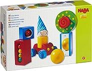 HABA *块积木 - 每个积木都有视觉或声音惊喜,适合年龄 1 岁及以上儿童(德国制造)