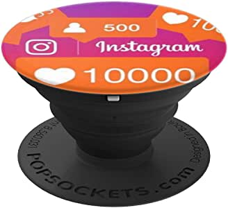 Popsockets instagram。 配件、配件。260027  黑色