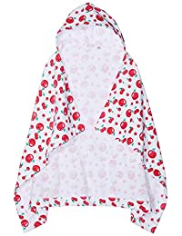 Chicco 女婴 Telo Mare 泳衣套装,红色(Bianco E Rosso 037),均码(制造商尺寸:099)
