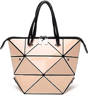 几何全息钱包和手提包女式可变换发光挎包单肩包闪电手提包