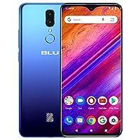 "BLU G9-6.3"" HD Infinity Display 智能手机,64GB+4GB RAM 蓝色"
