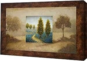 "PrintArt GW-POD-34-6487-20x13""Field Blossom Illusion"" Michael Marcon 画廊装裱艺术微喷油画艺术印刷品,50.80 cm x 33.02 cm"