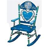Wildkin 摇椅 3 to 6 Time Out - Boy Rocking Chair