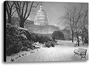 Heritage 1093 Evening on The Hill Artwork by Rod Chase, 10 x 15-Inch, Black and White