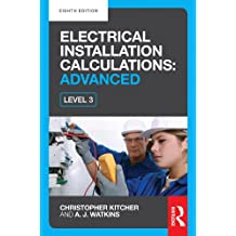 Electrical Installation Calculations: Advanced, 8th ed (English Edition)