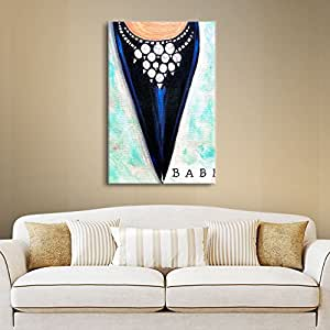 Art Wall 'Babe' Gallery Wrapped Canvas Art by Susi Franco, 24 by 18-Inch
