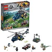 LEGO 乐高  拼插类 玩具  Jurassic World 侏罗纪世界系列 Blue的直升机追踪 75928 7-12岁