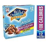 Blue Diamond Almonds On the Go 100卡路里/包 杏仁, 盐渍, 12包