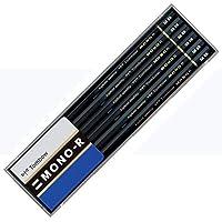 Tombow 蜻蜓铅笔 铅笔 MONOR 塑料盒 2B 2B 1ダース