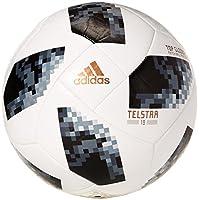 adidas 阿迪达斯 2018世界杯足球 白/黑/银金属