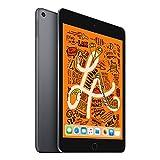 【2019新款】Apple iPad mini 2019新款平板电脑 7.9英寸(64G WiFi版/A12芯片/Retina显示屏/MUQW2CH/A) 深空灰+Chirslain清洁套装