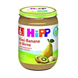 HiPP 喜宝 水果泥 猕猴桃 香蕉 梨子,6罐(6 x 190克)