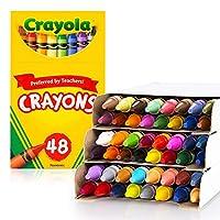 Crayola 绘儿乐 进口学生绘画文具 48色彩色蜡笔52-0048