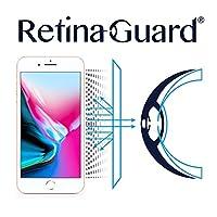 RetinaGuard视网盾iPhone8 Plus护眼防蓝光 5.5寸屏幕手机膜 屏幕贴膜 透明