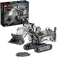 LEGO 42100 Technic Control+ LIEBHERR 9800 挖掘机应用控制高级建筑套装,配有交互式马达和蓝牙连接