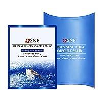 SNP 海洋燕窝补水安瓶精华面膜25ml*10片装 深层补水保湿(韩国品牌)