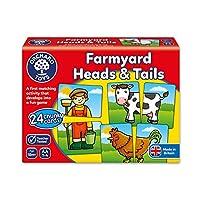 Orchard Toys 桌面游戏 农场动物(亚马逊进口直采,英国品牌)