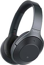 Sony 索尼 WH-1000XM2 Hi-Res无线蓝牙耳机 智能降噪耳机 头戴式 1000x二代 黑色