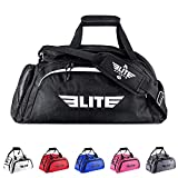 NEW ITEM Elite Sports Warrior Series Boxing MMA BJJ Gear Gym Duffel Backpack Bag